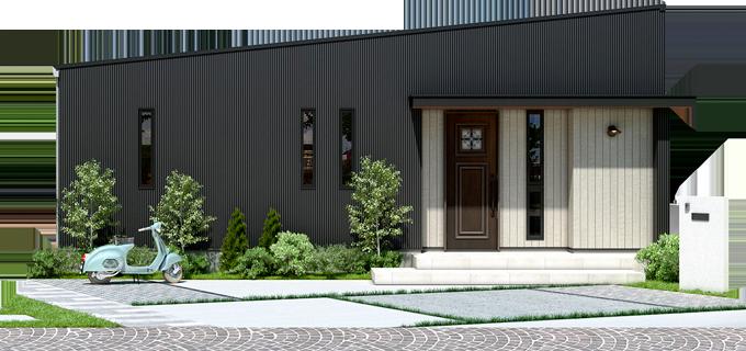 「ジブンハウス」外観イメージ
